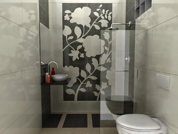 contoh gambar kamar mandi desain wc jongkok minimalis