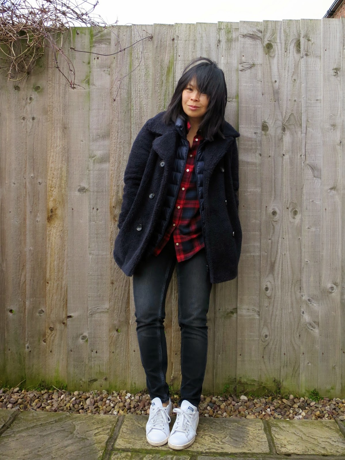 Uniqlo down jacket outfit