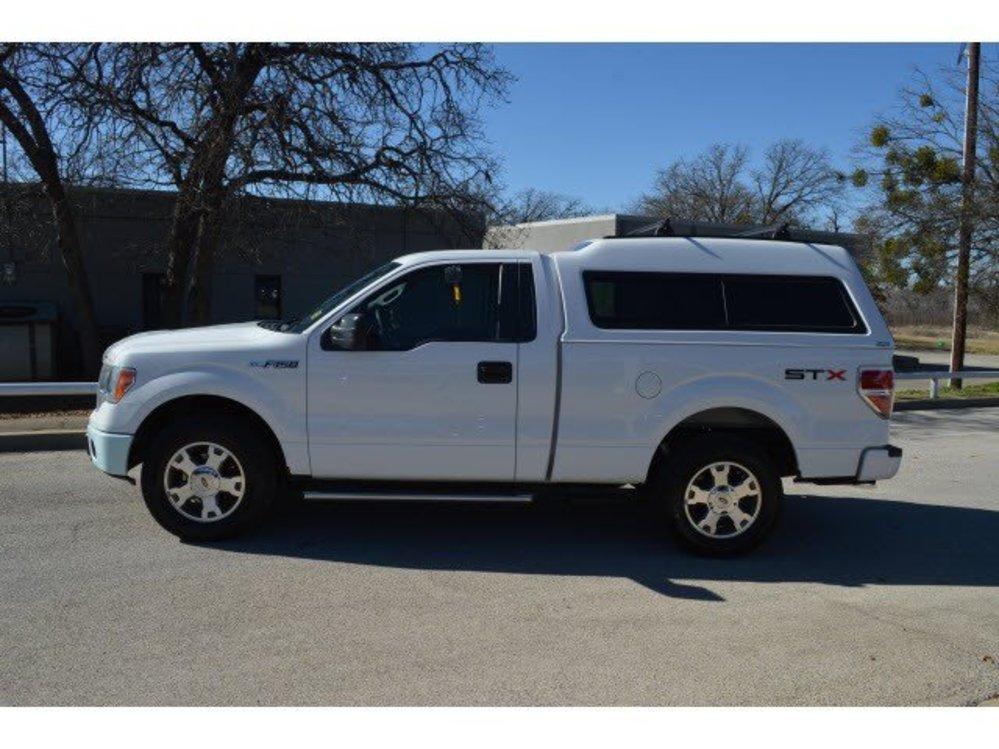 TDY Sales $12,991 White 2009 FORD F-150 STX REGULAR CAB V8 RWD Truck ...