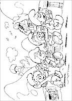 The Smurfs Coloring Pages