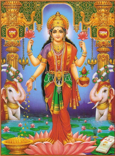 Goddess of wealth: Lakshmi is one of the most popular goddesses of Hindu mythology