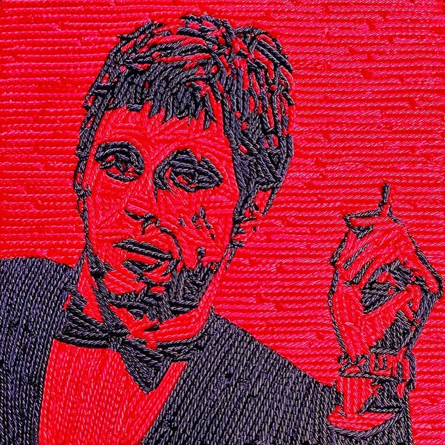 03-Al-Pacino-Scarface-Jason-Mecier-Paintings-or-Sculptures-in-Portrait-Collage-www-designstack-co