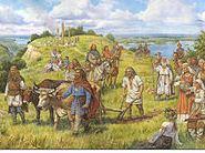 Кий Щек Хорив і Либідь засновують місто Київ 482 рік
