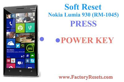 Soft Reset Nokia Lumia 930
