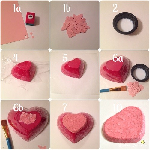 Diy paper mache heart jewelry dish for How to make paper mache jewelry
