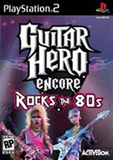 Guitar Hero Encore: Rocks the 80s   PS2