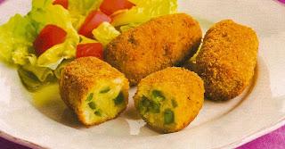 Receta Croquetas de Vegetales