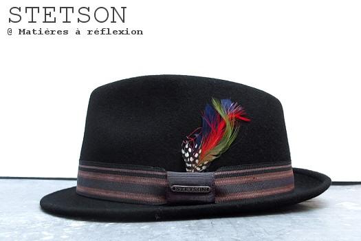 Chapeau femme Stetson Oviedo noir