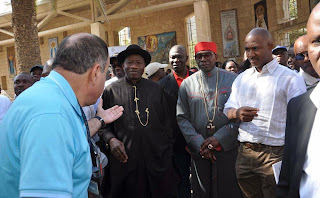 Exclusive Photos: Day 3 of president Goodluck Jonathan's pilgrimage to Israel
