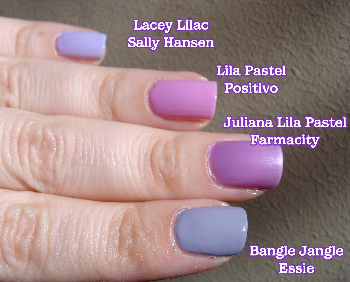 Esmaltes de Julie: Violeta es el color de tu flash