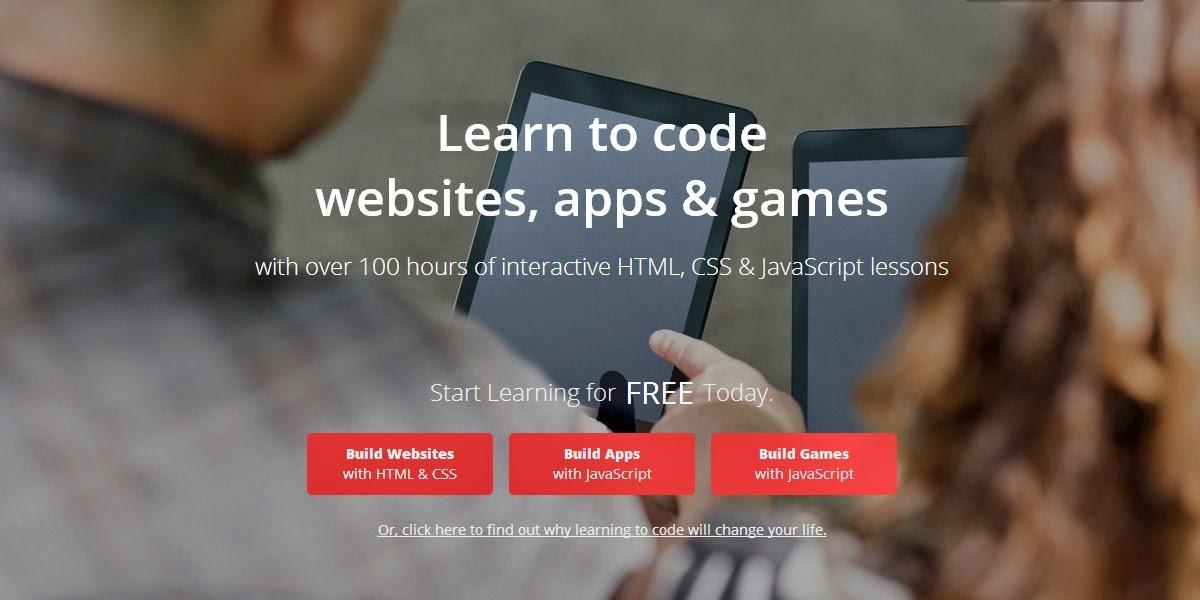 Situs untuk belajar kode website