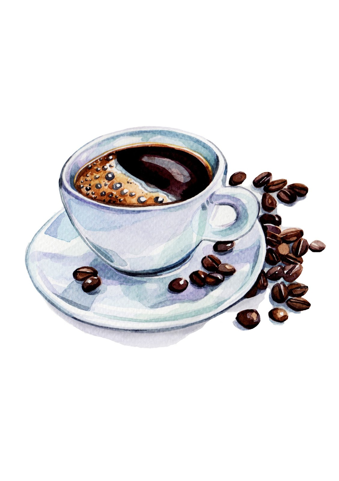 coffee cup watercolor bing images