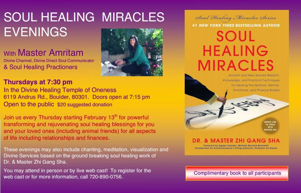 Soul Healing Miracle Evenings