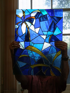 Stained Glass Art - Needs sunlight - Designs by Neelie