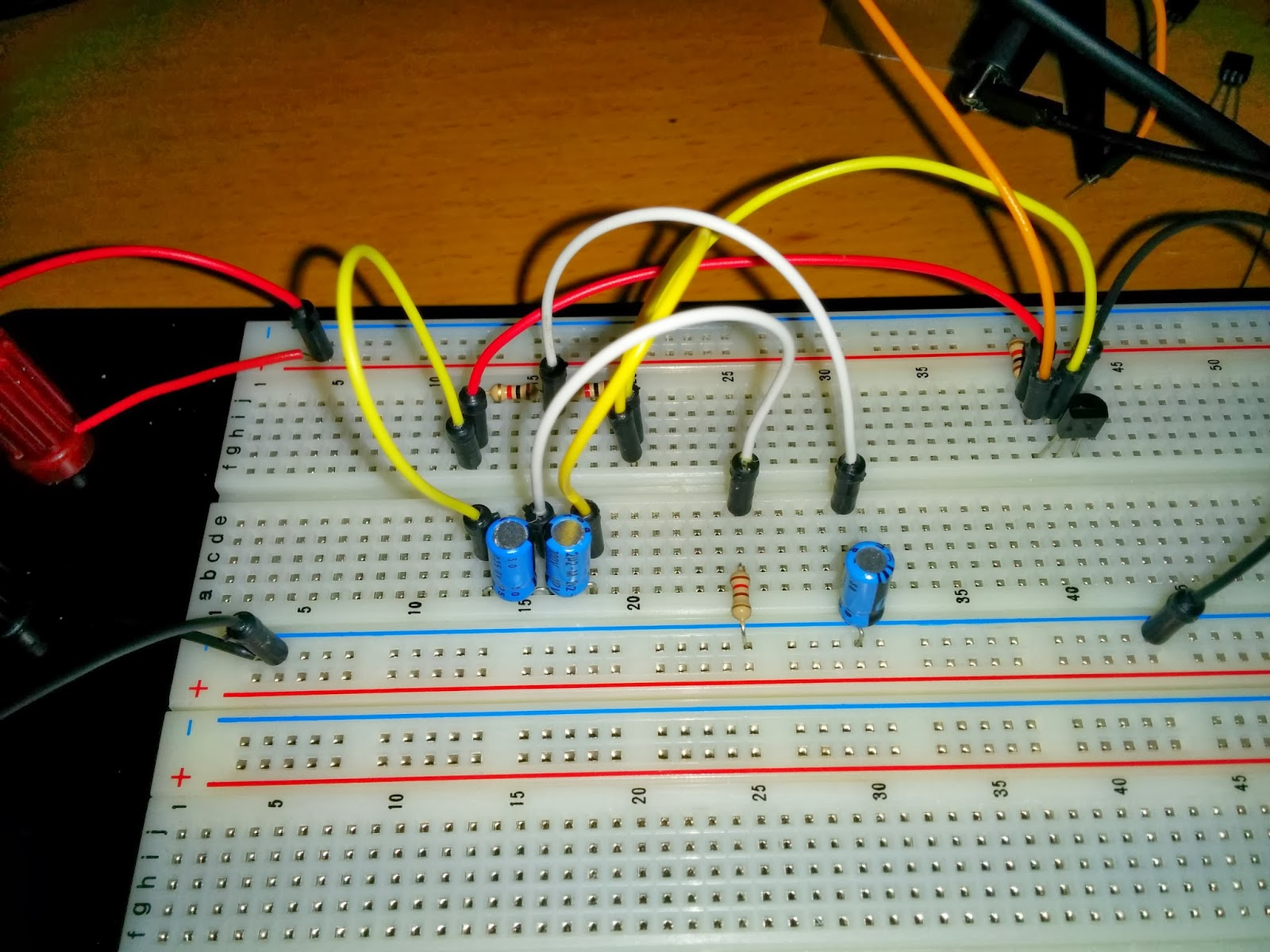 Learning Electronics High Q Notch Filter With Active Twin T Network As You Can See On The Pic It Is Quick And Easy To Put Together