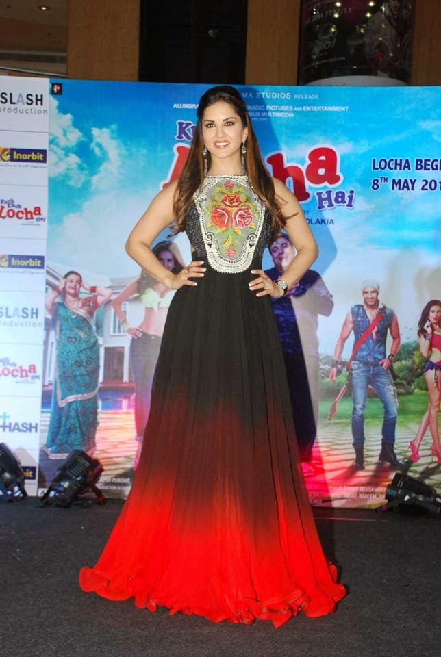 Ram Kapoor and Sunny Leone Promote their upcoming movie Kuch Kuch Locha Hai