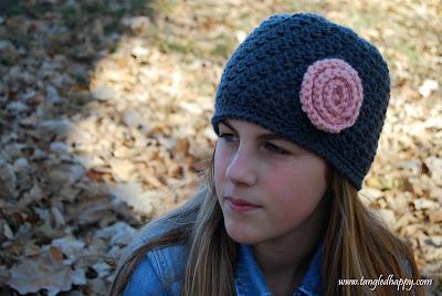 crochet pattern bella's beanie