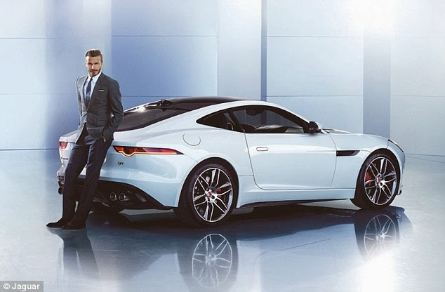 David Beckham be the new face of the brand Ambassador Jaguar