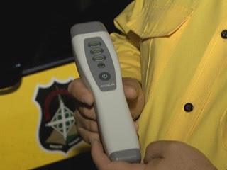 DETRAN-DF testa bafômetro que dispensa sopro do motorista