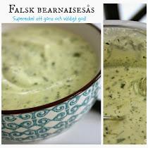 Falsk bearnaisesås - Mycket gott och enkelt att göra :)
