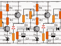 Sequential Delay Timer Circuit using Transistors