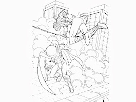 Spider Man Villains Coloring Pages