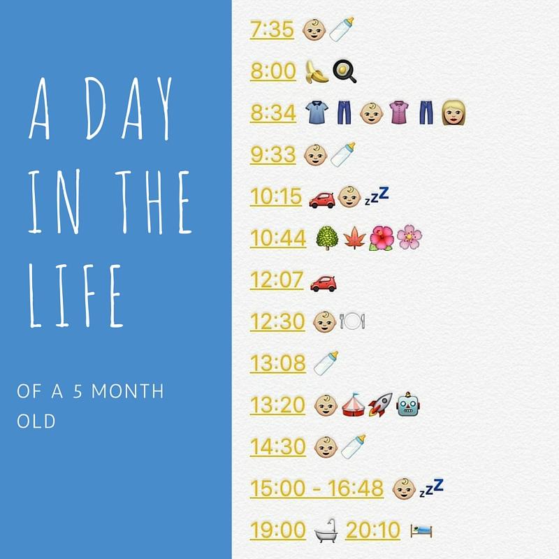 3 months baby schedule