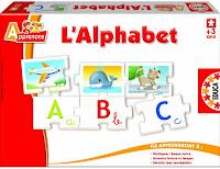 Jeu éducatif pour apprendre l'alphabet