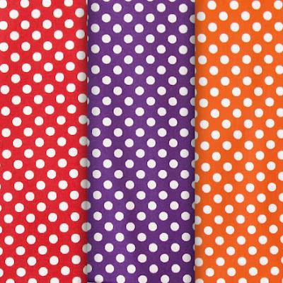 хлопок в горошки, Cotton polka dots