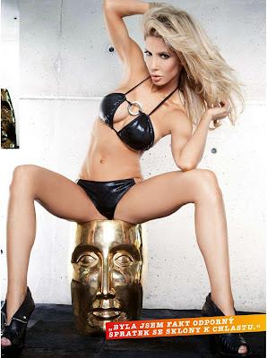 Nikki Gray Hot Bikini Photoshoot For FHM Czech