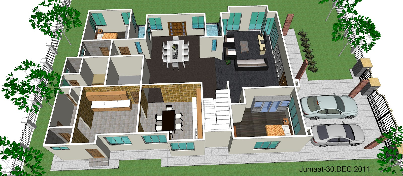 Interior Design Drafting