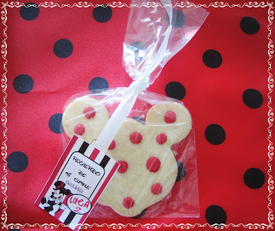 Galleta decorada Mickey Mouse