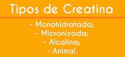 Tipos de Creatina