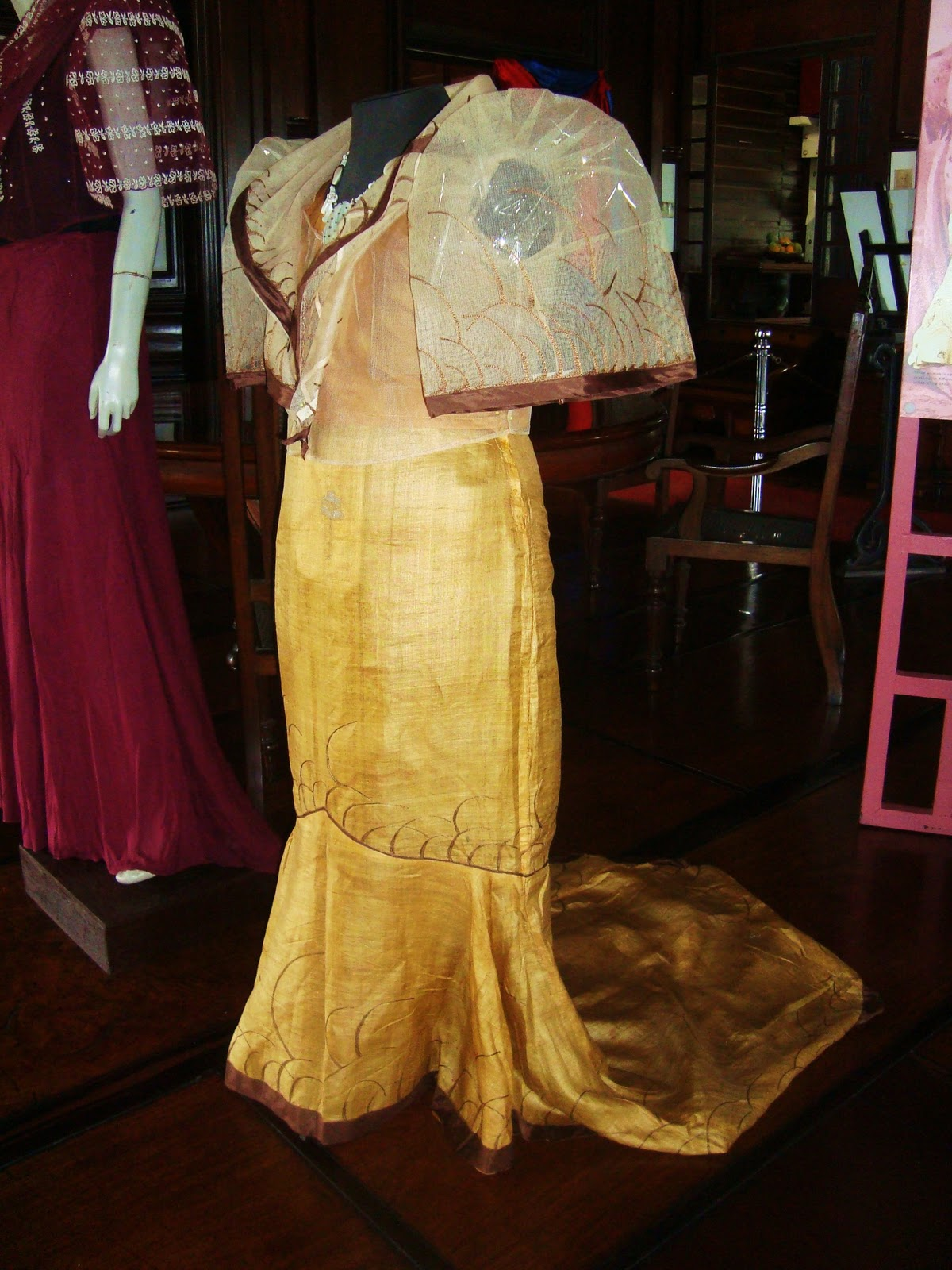 Baro't Saya (Ternos) of Doña Maria Agoncillo Exhibit at the