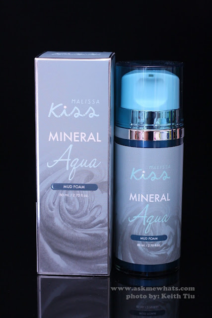 A photo of Malissa Kiss mineral Aqua Mud Foam