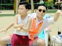 Gangnam Style funny child