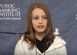 Një Sekret Botërorë Financiarë zbulohet nga 12-vjeçarja