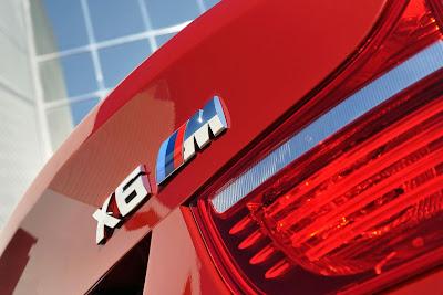 BMW X6 M rear