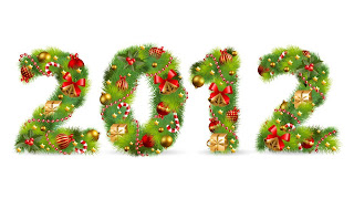 2012 Christmas Tree font wallpapers