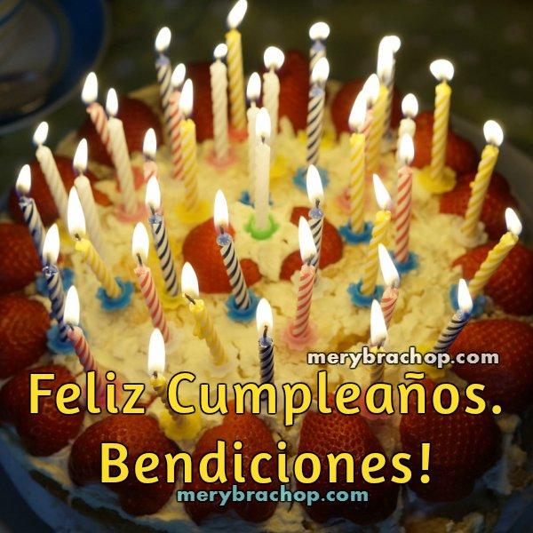 Tarjeta con buenos deseos de cumpleaños, imágenes con frases lindas de cumple. Entre poemas y vivencias por Mery Bracho.