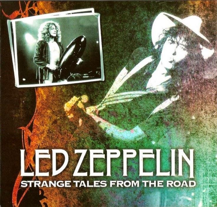 1977 - Led Zeppelin - Strange Tales From The Road - Landover + NY