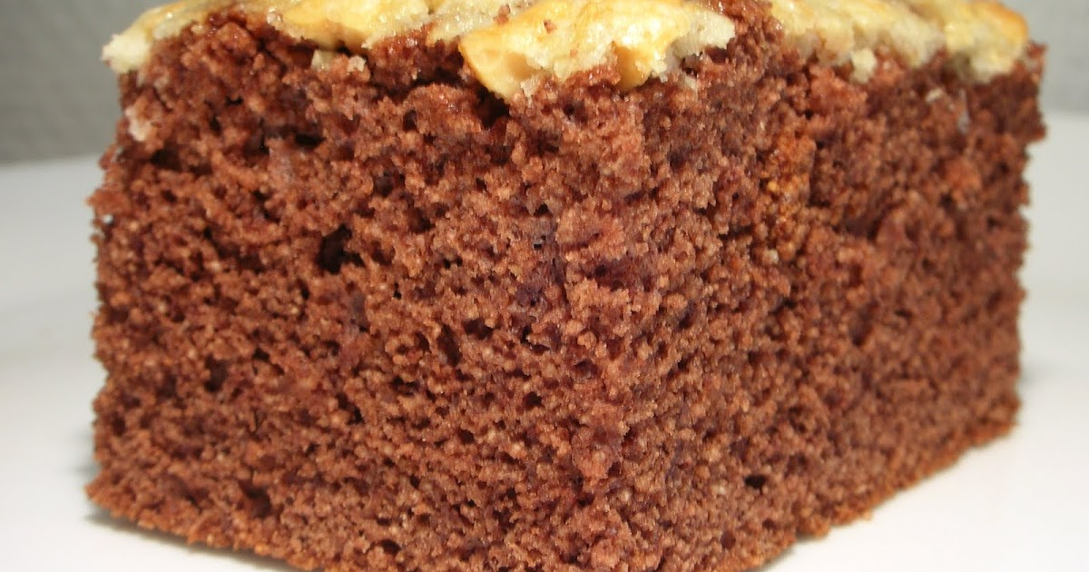 Peanut Oil Cake Recipe
