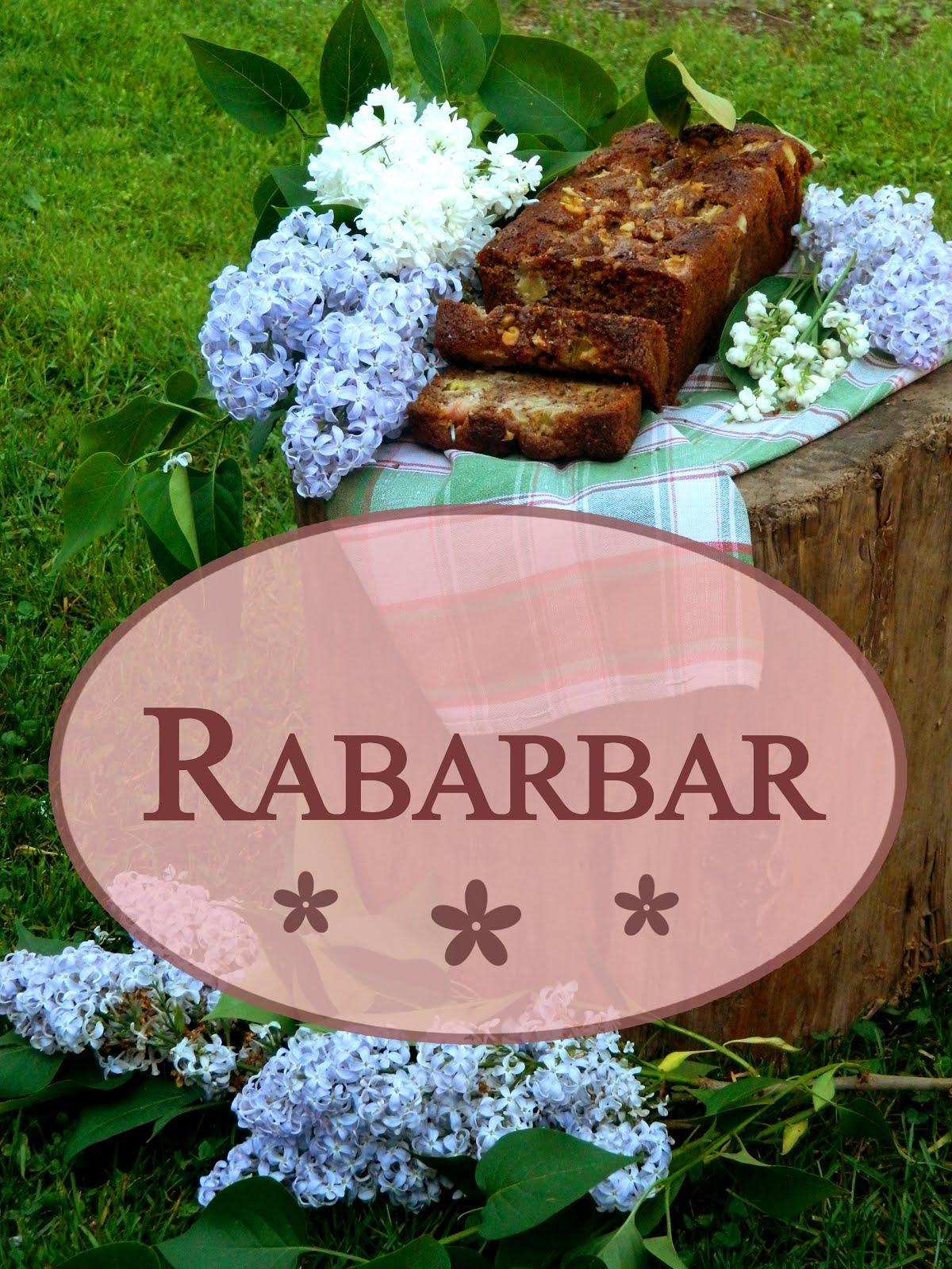 Przepisy z Rabarbarem