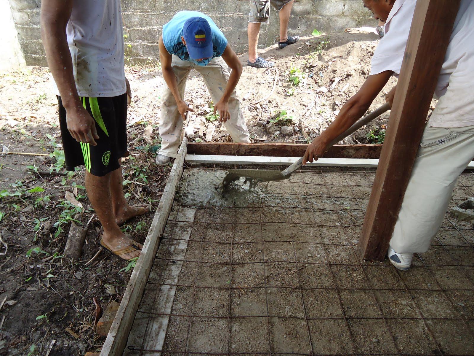 Mariagil palomino cultural trabajo abril 2 a 9 de 2011 for Materiales para hacer un piso