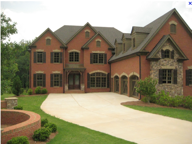 Milton georgia homes for sale close to golf courses for Builders in georgia
