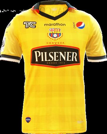 Marathon apresenta a nova camisa titular do Barcelona de Guayaquil - Show  de Camisas cdbe4590cba7f