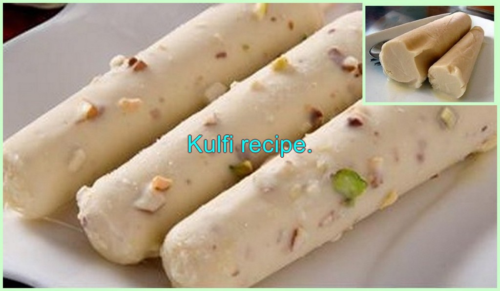 Kulfi recipe Pakistani.