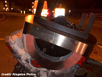 'Burning UFO Wreckage' Near London Mystifies Police 10-17-15