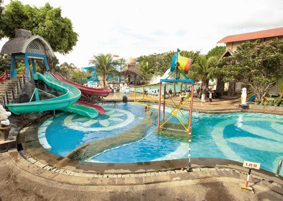 kolam renang di perumahan graha raya bintaro