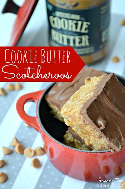 http://www.lemontreedwelling.com/2013/04/cookie-butter-scotcheroos.html